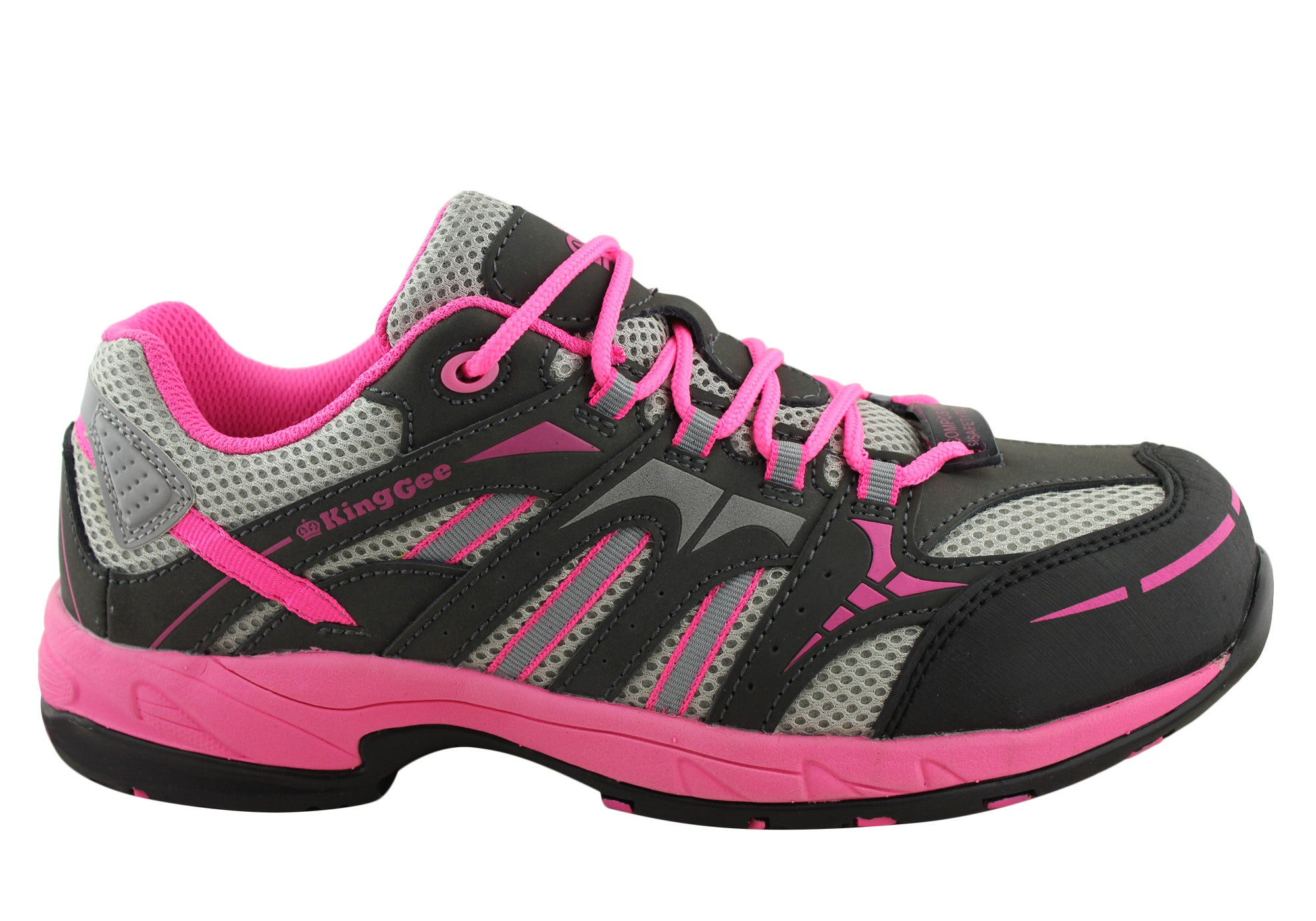 King Gee Womens Comp-Tec G3 Composite Toe Safety Shoes | Brand House Direct