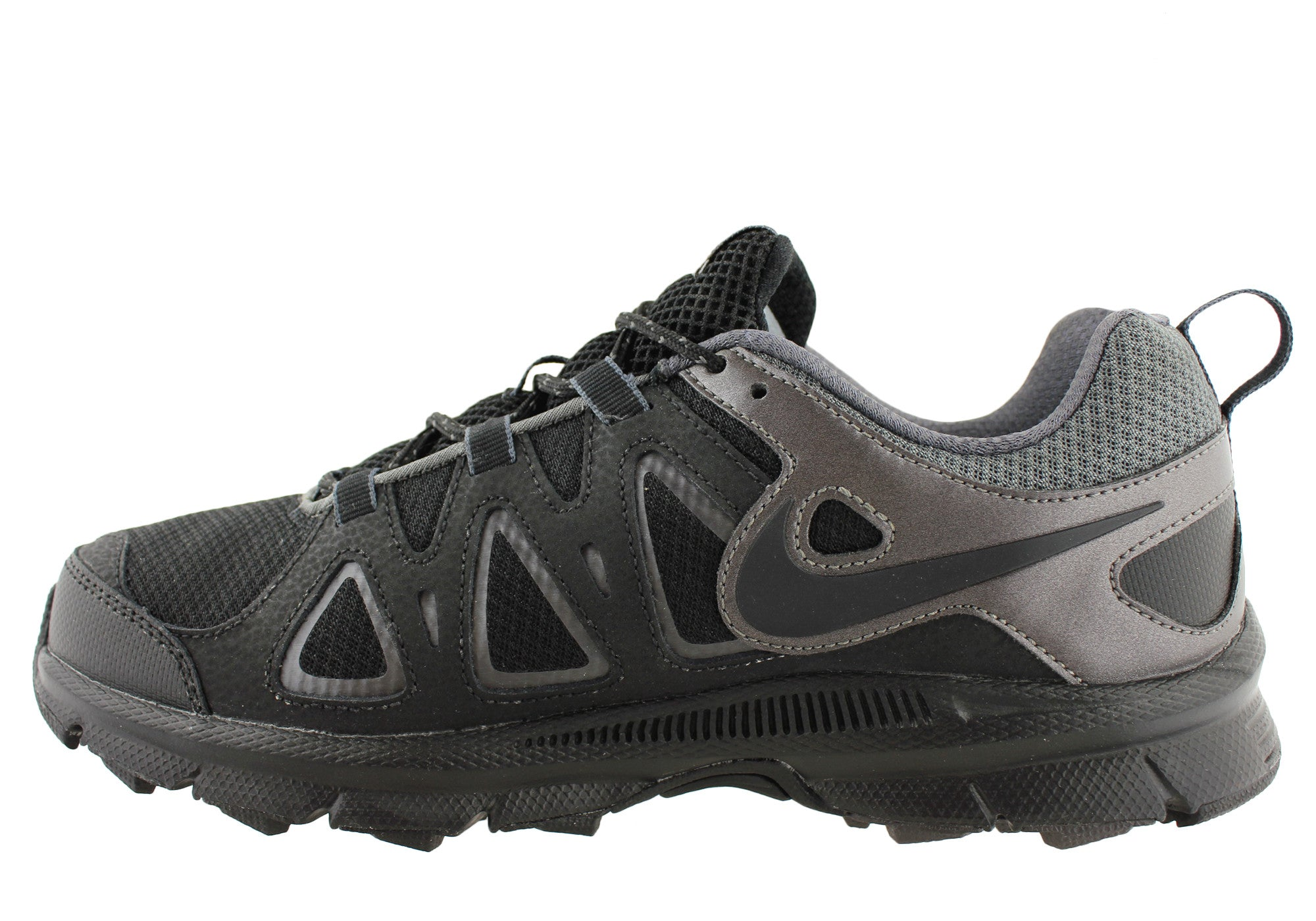f8e4b647d69 Nike Air Alvord 10 Mens Shoes 4E Wide Width Comfortable Shoes  Black Grey  ...