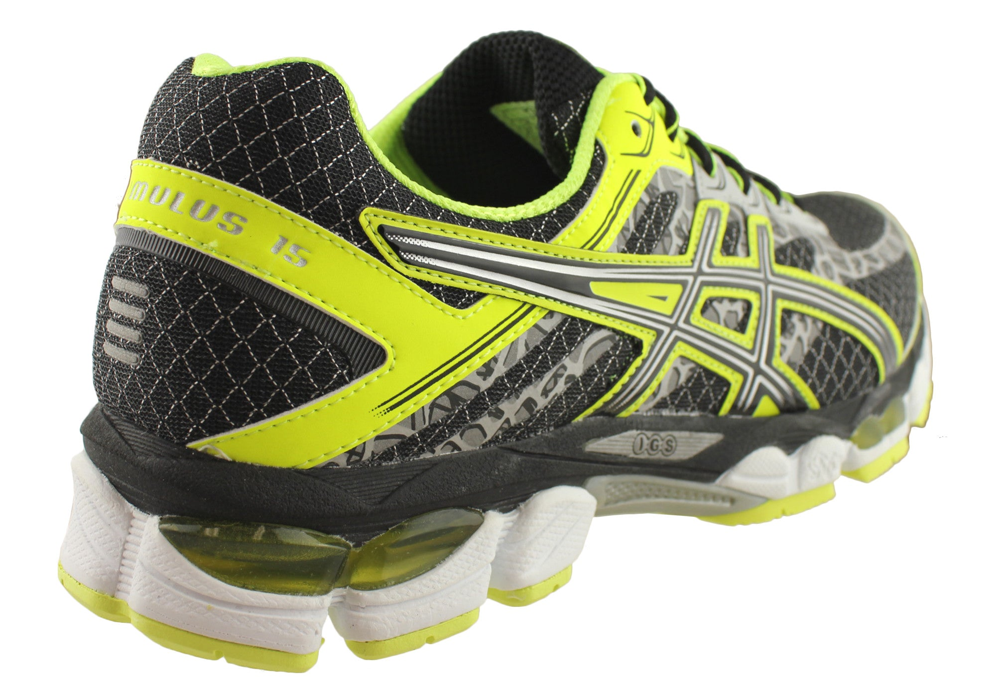asics gel cumulus 15 lite show mens running shoes brand house direct. Black Bedroom Furniture Sets. Home Design Ideas