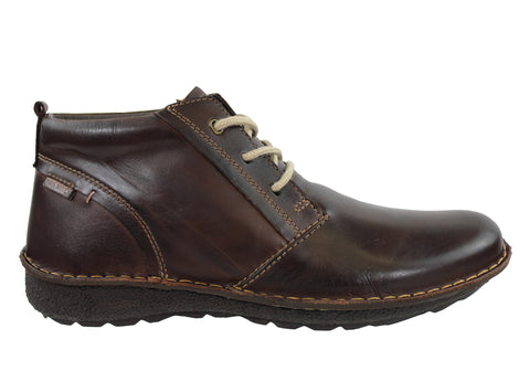 Pikolinos Chile Mens Leather Boots Made In Spain