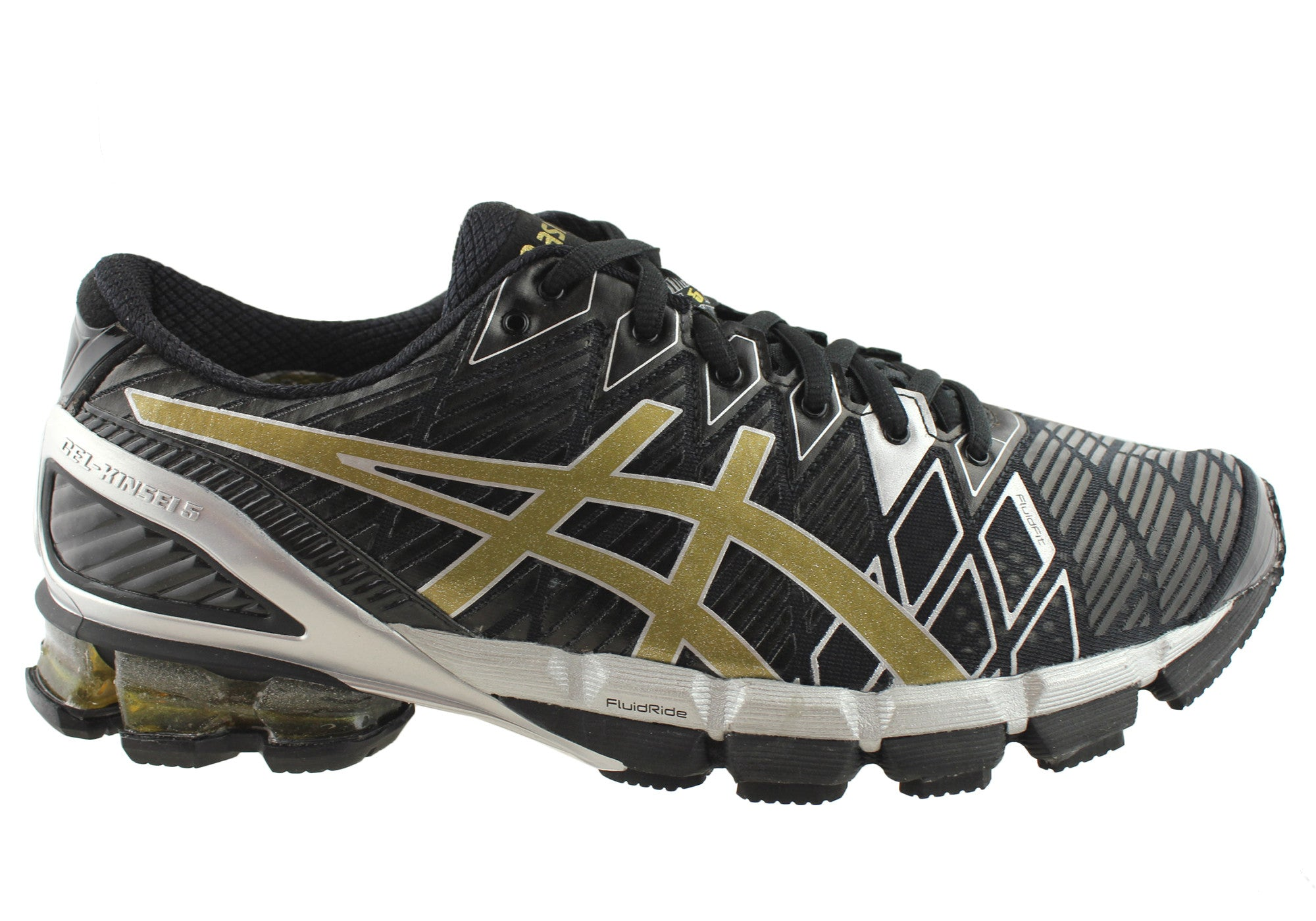 newest 07f41 f8497 Home Asics Gel-Kinsei 5 Mens Premium Running Shoes. Navy Royal Lime · Black  Gold Silver ...