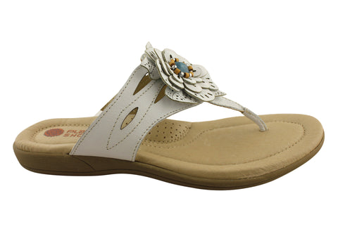 Planet Shoes Glitz Womens Comfy Thong Sandals