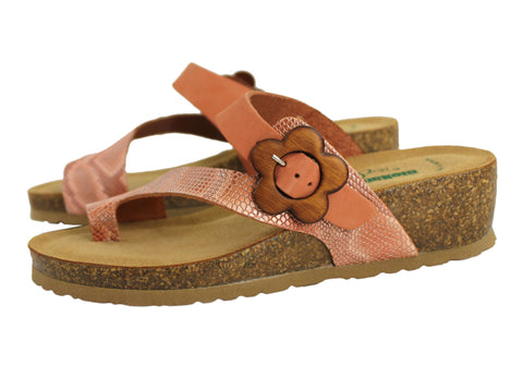 4b7a49da5b4b ... BioNatura Buster Womens Leather Comfort Sandals Made in Italy ...