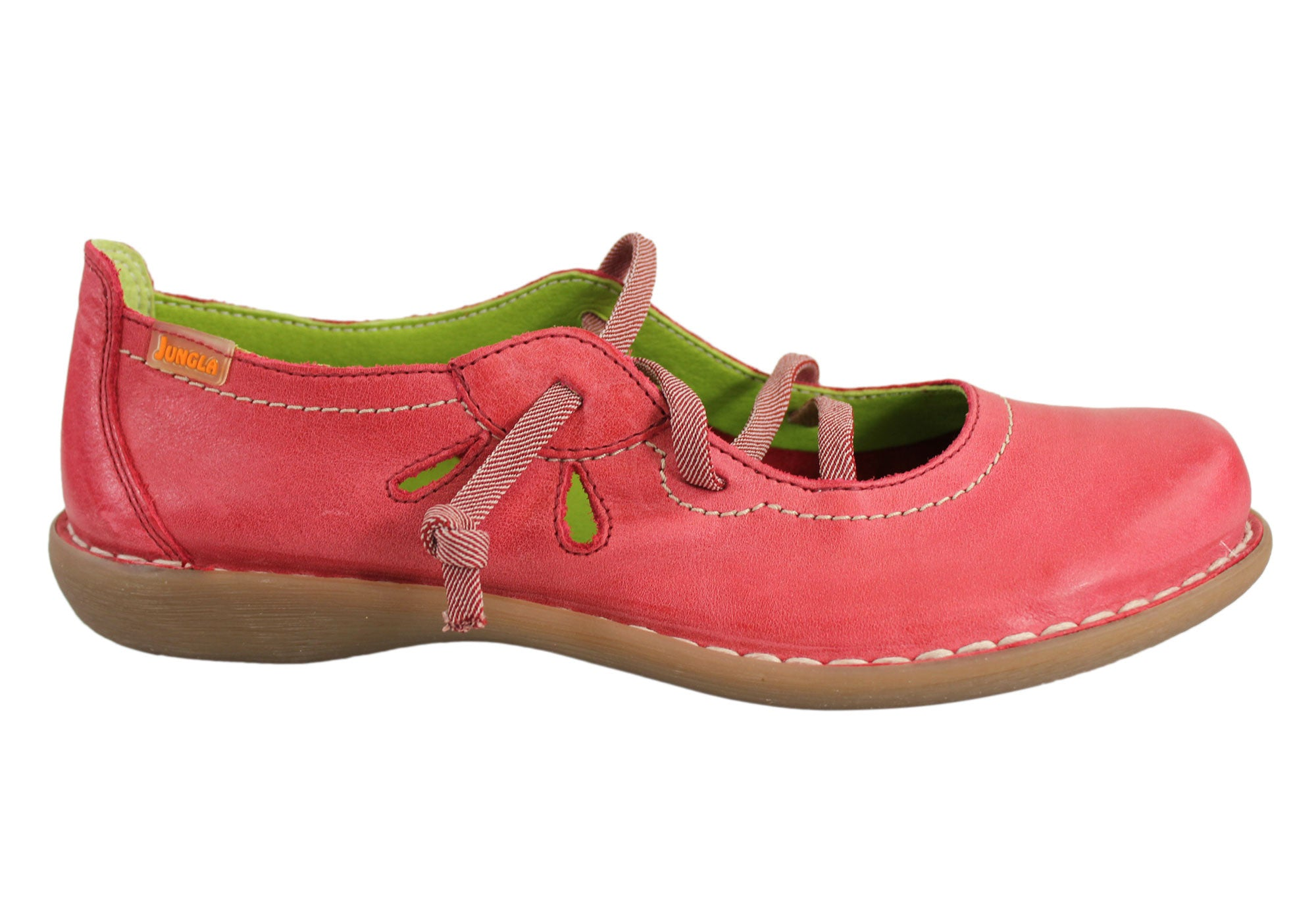 fbe95394c97a0 Jungla 5120 Womens Soft Leather Comfortable Casual Shoes Made In Spain    Brand House Direct
