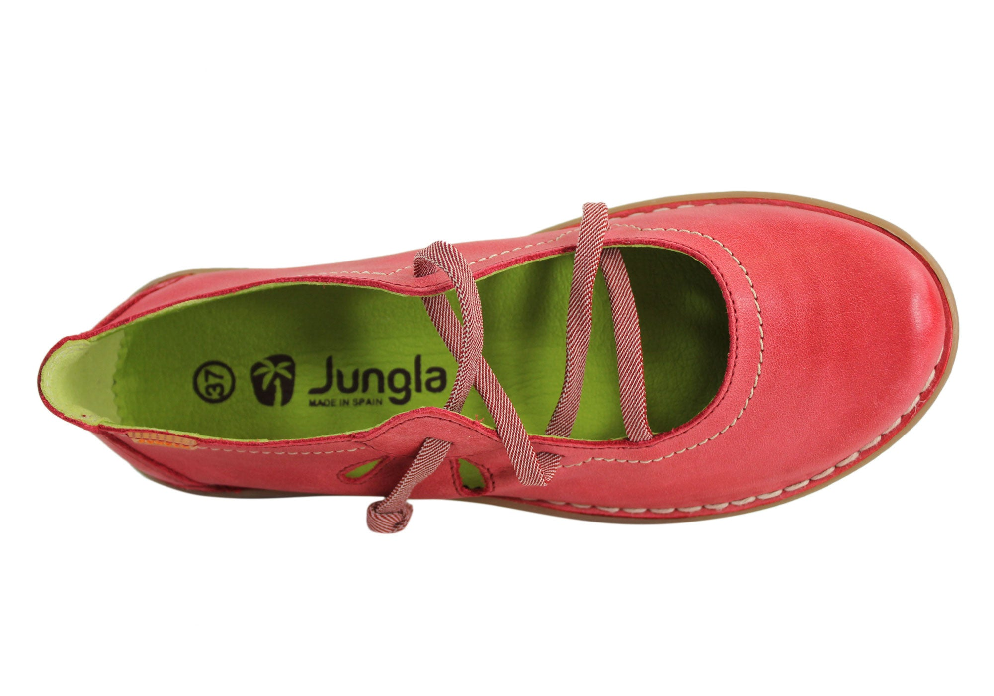 2eacf83a3a61c Jungla 5120 Womens Soft Leather Comfortable Casual Shoes Made In ...