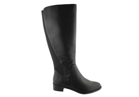Hush Puppies Yarra Womens Leather Knee High Boots