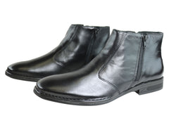 Ferracini Micko Mens Leather Comfortable Dress Boots Made In Brazil