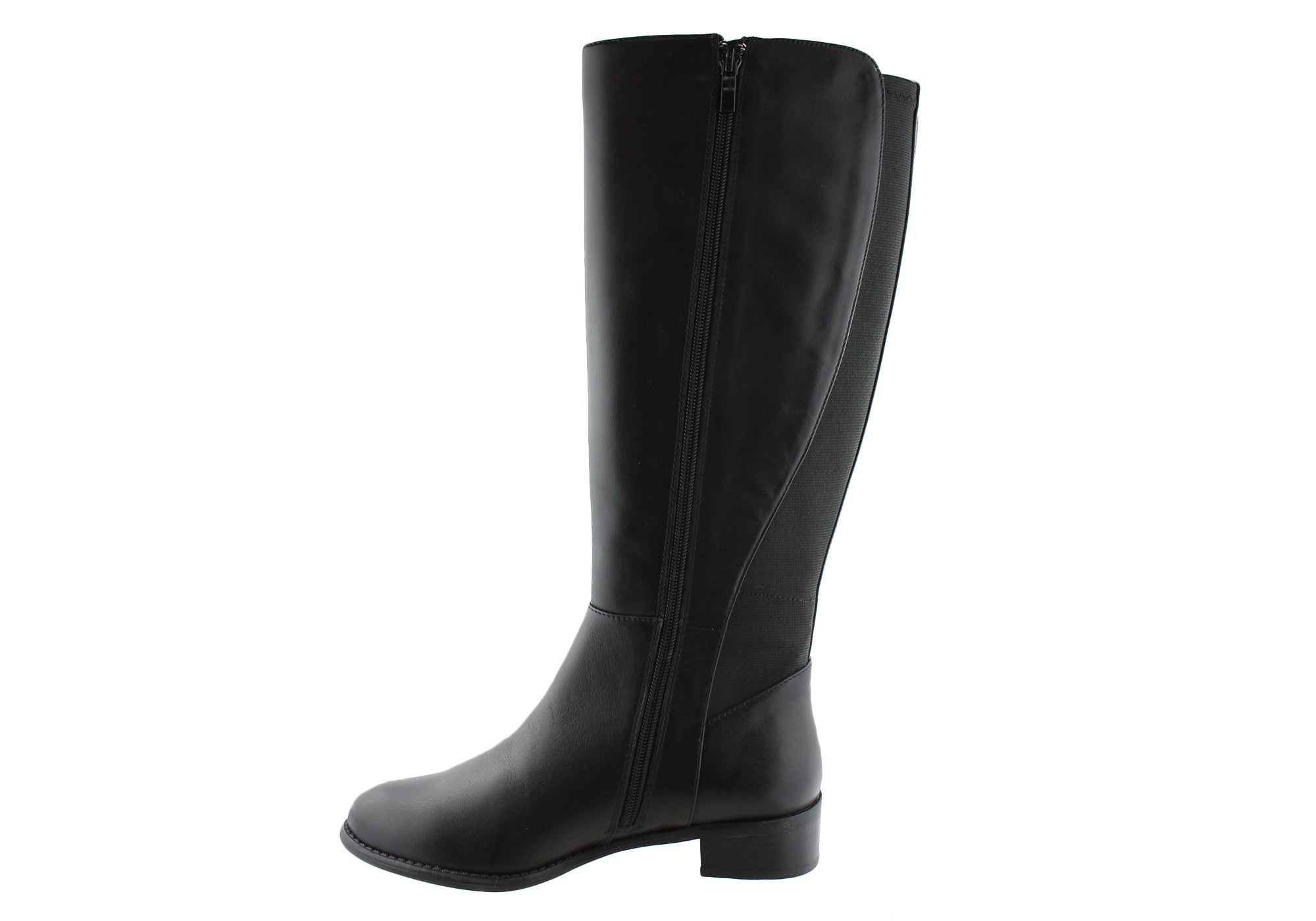 c3a36498bee Details about Hush Puppies Yarra Womens Leather Knee High Boots