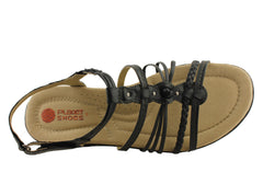 Planet Shoes Gismo Womens Leather Comfy Sandals