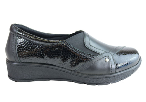Cabello Comfort CP225-33 Womens Leather European Comfort Shoes