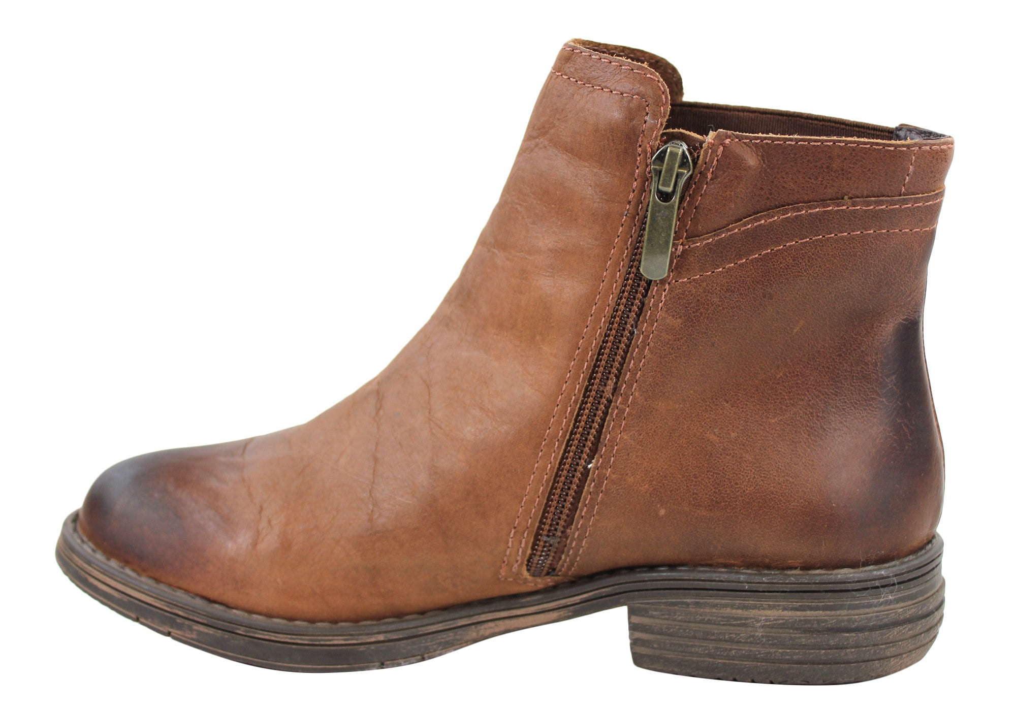 Gino Ventori Sid Womens Ankle Boots Made In Brazil