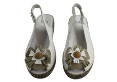 Sala Europe New Erica Womens Comfortable Wedge Sandals
