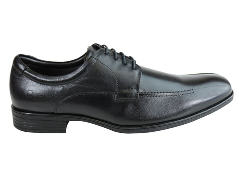 Democrata Ian Mens Leather Cushioned Dress Shoes Made In Brazil