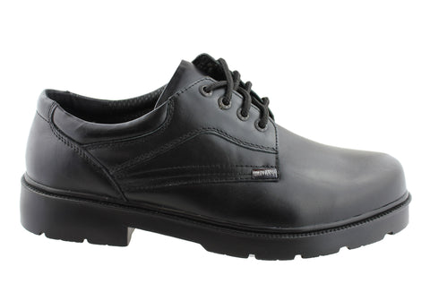 Montana William Mens Leather Lace Up Shoes