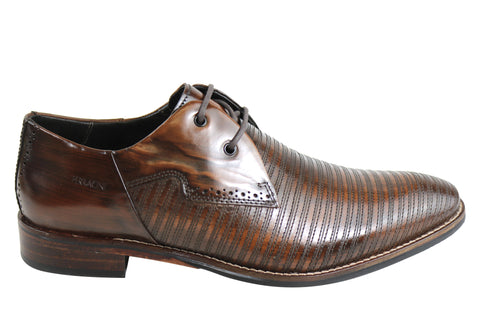 Ferracini Issah Mens Leather Comfortable Dress Shoes Made In Brazil