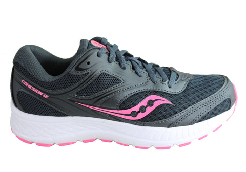 Saucony Womens Versafoam Cohesion 12 Comfortable Athletic Sport Shoes