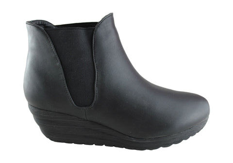 Grizzly Boston Womens Fashion Ankle Boots
