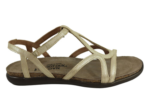 Naot Dorith Womens Comfortable Flat Leather Strappy Sandals