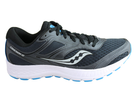 Saucony Mens Versafoam Cohesion 12 Comfortable Athletic Sport Shoes