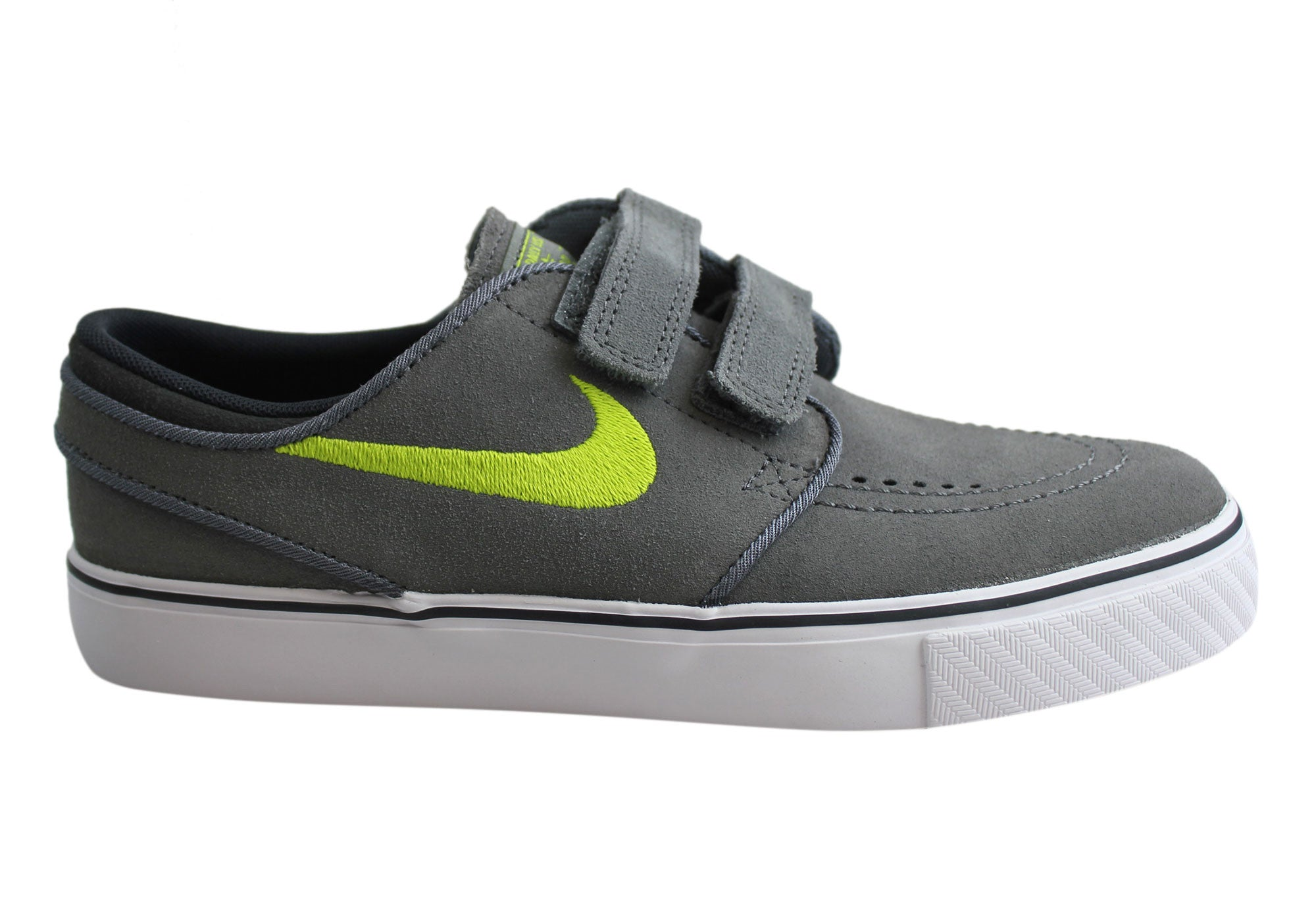 72ac39fe3b51 Details about New Nike Sb Kids Boys Stefan Janoski Ac Suede Adjustable  Strap Shoes