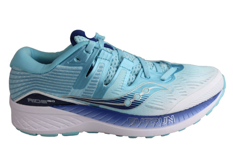 Saucony Womens Ride ISO Comfortable Athletic Running Shoes