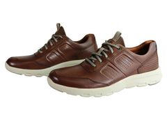 Rockport Let Walk Ubal Lace Up Mens Comfortable Wide Fit Shoes