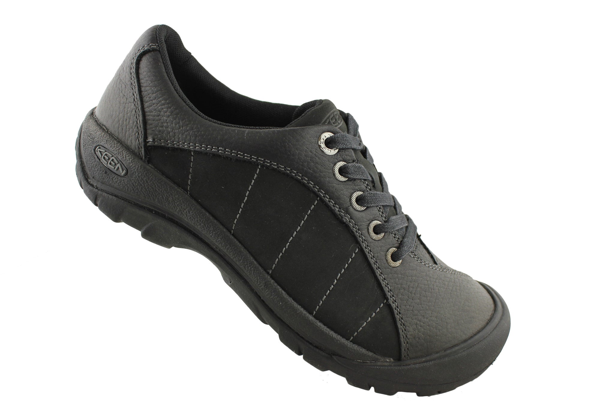 Keen Presidio Womens Leather Lace Up Casual Shoes