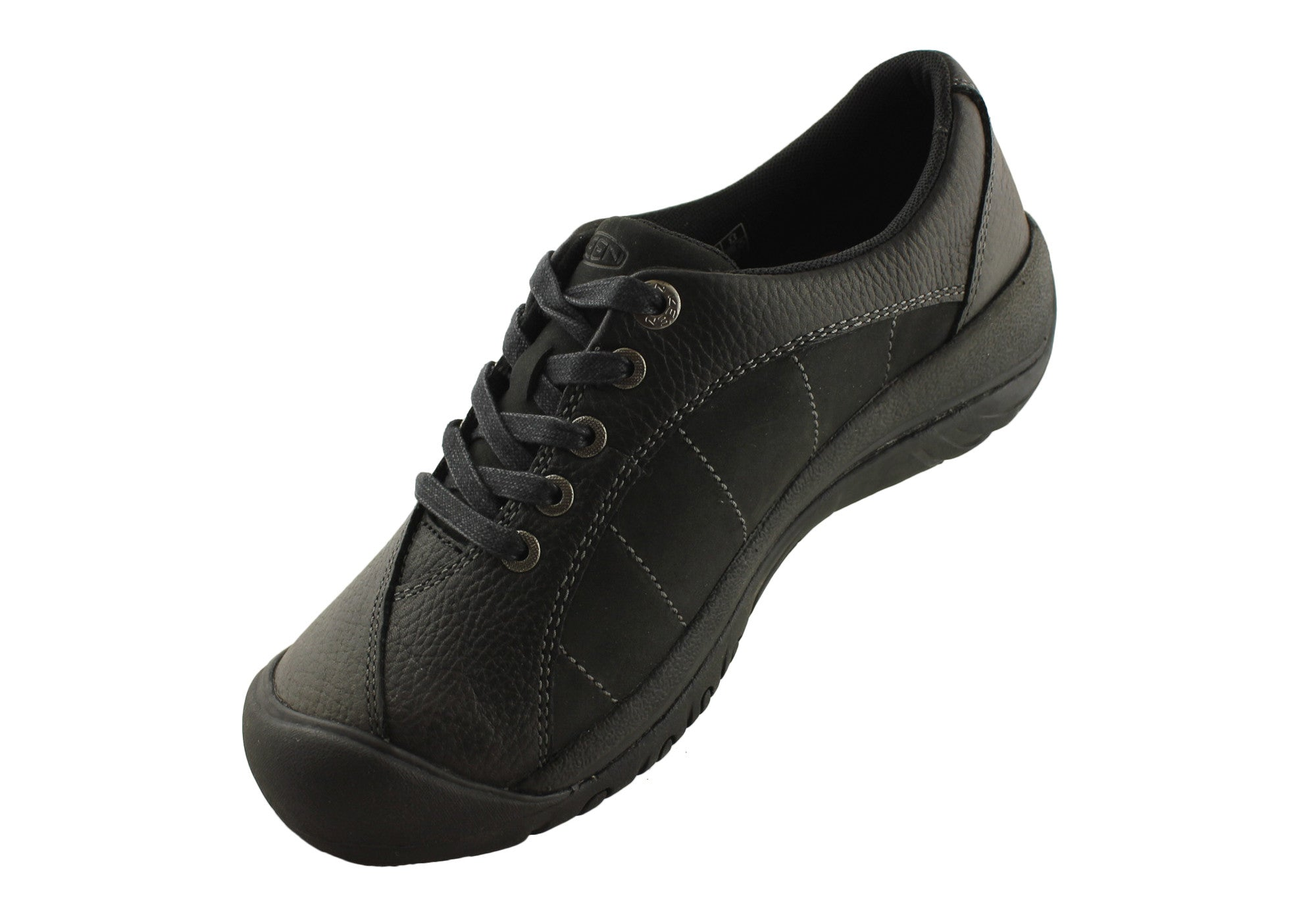 2d74ae211788 Keen Presidio Womens Leather Lace Up Casual Shoes