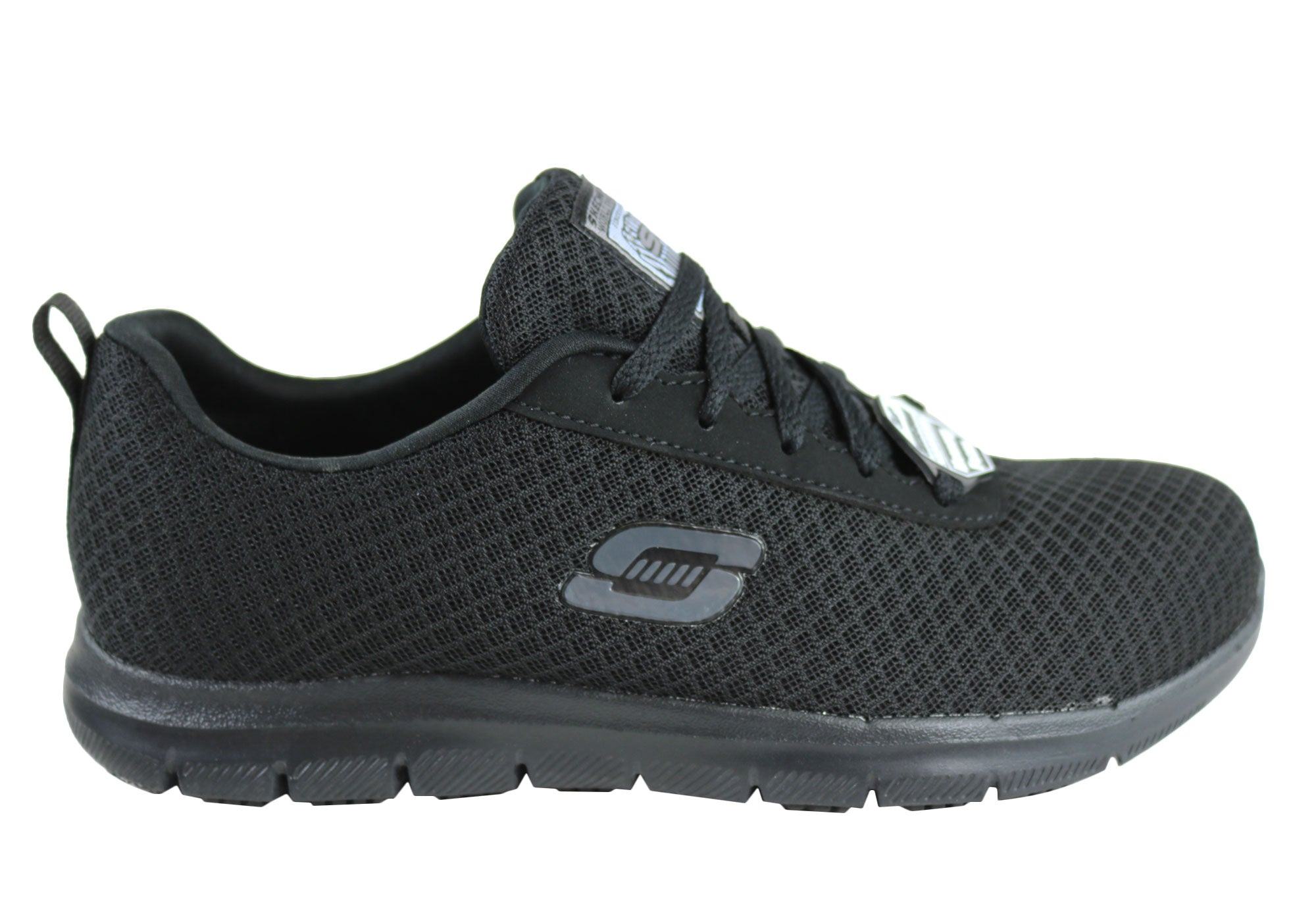 limited price better price for select for newest Skechers Womens Ghenter Bronaugh Comfort Slip Resistant Work Shoes