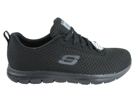 Skechers Womens Ghenter Bronaugh Comfort Slip Resistant Work Shoes