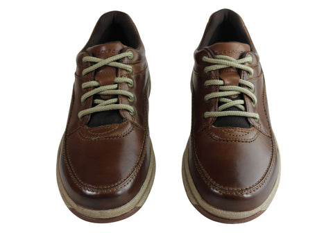 f1778ef3fac Rockport World Tour Classic Mens Comfort Wide Fit Walking Shoes ...