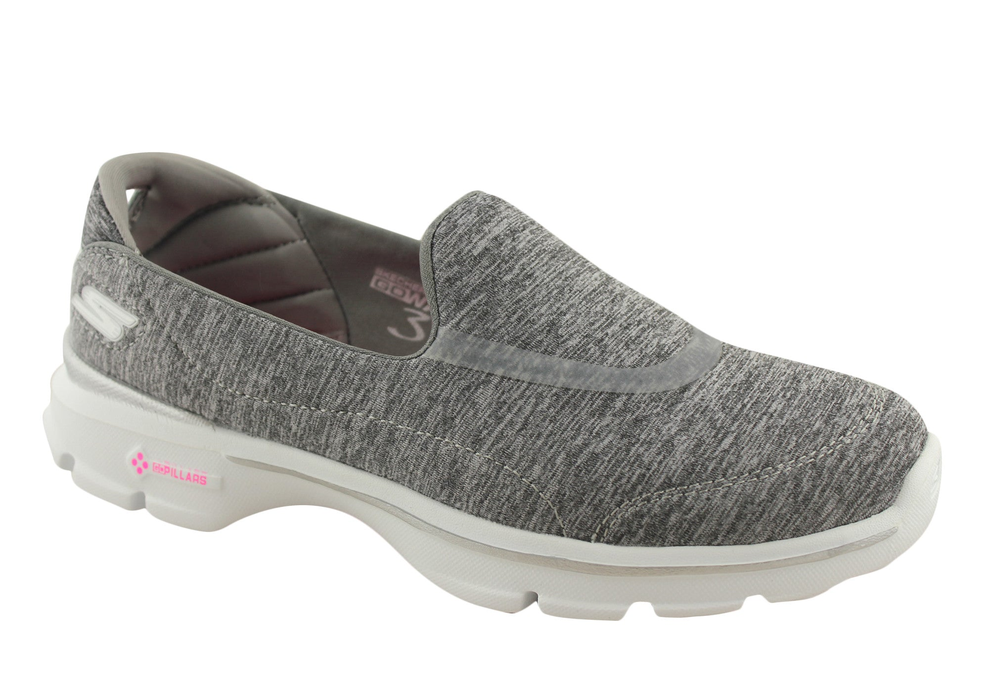 Skechers Go Walk 3 Reboot Womens Comfortable Shoes