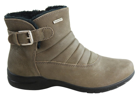 Josef Seibel Fabienne 53 Womens Waterproof Leather Ankle Boots