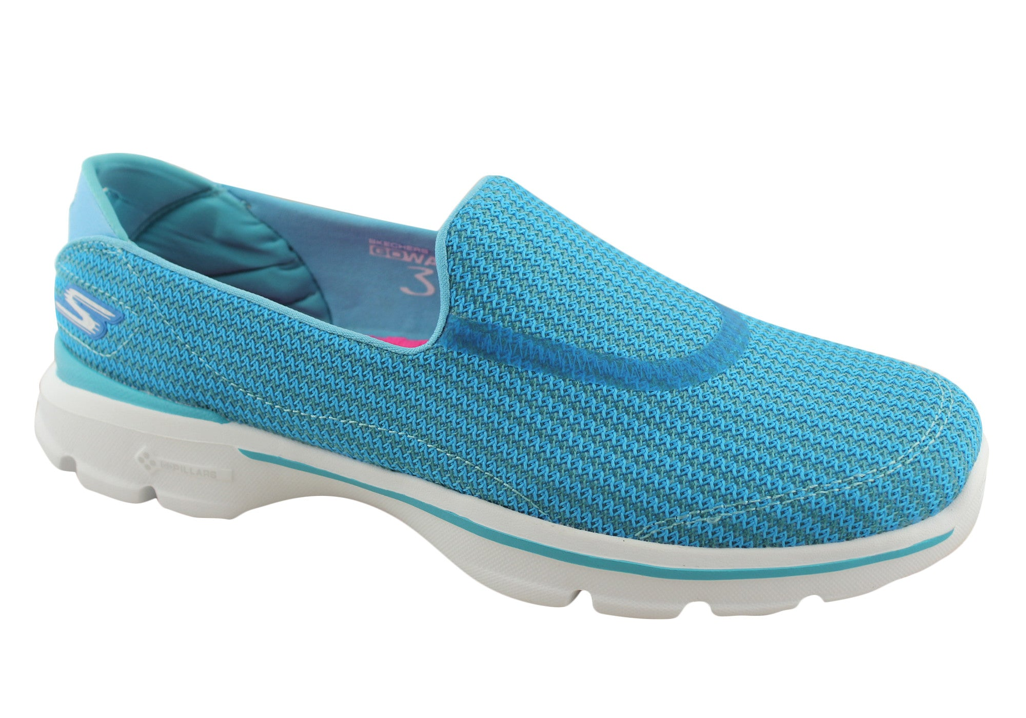 Skechers Go Walk 3 Womens Comfortable Shoes
