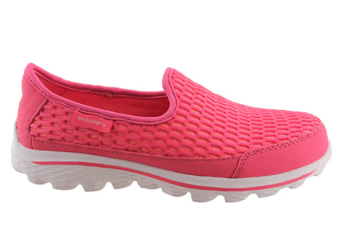 Skechers Go Walk 2 Super Breathe Girls/Older Kids Shoes