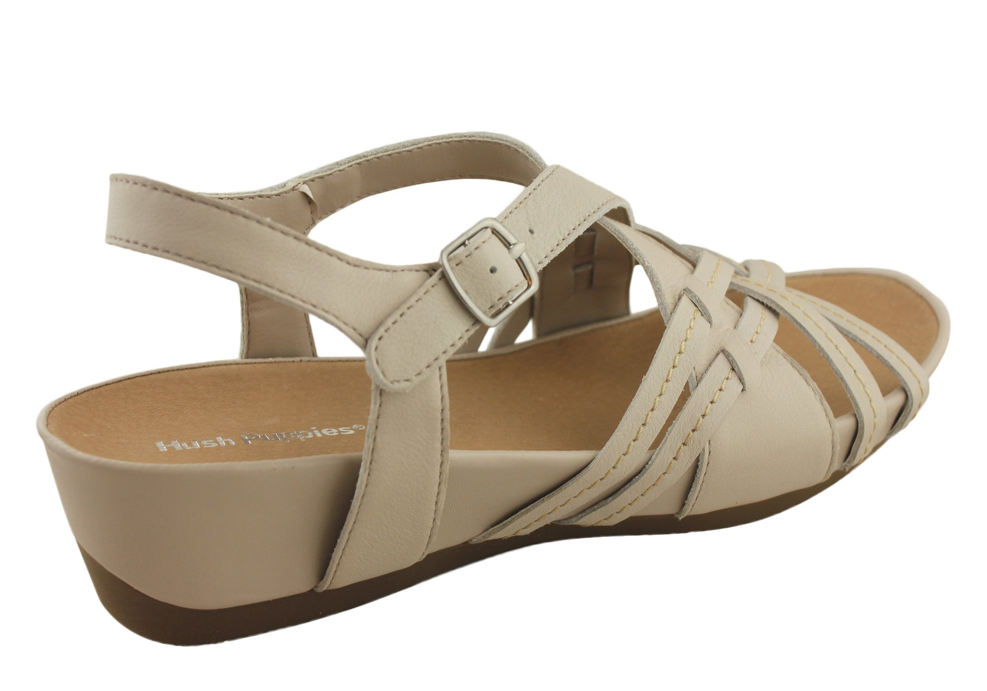 Hush Puppies Belina Womens Comfortable Leather Sandals
