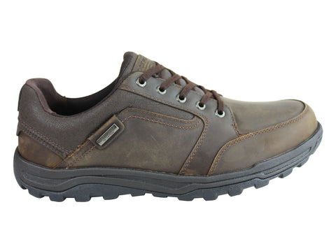 Rockport Harlem Lace To Toe Mens Comfortable Wide Fit Leather Shoes