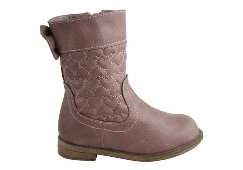 Bellissimo Luna Junior Girls Comfortable Fashion Boots