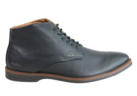 Kildare Jeremy Mens Comfortable Lace Up Dress Boots Made In Brazil