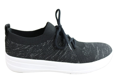 Fitflop Womens Comfortable Lightweight F Sporty Uberknit Sneakers