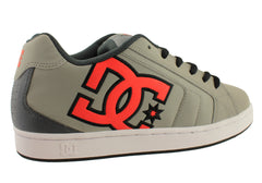 DC Shoes Net Mens Performance Lace Up Casual Skate Shoes