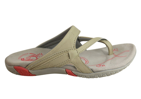 Bellissimo Valley Womens Comfort Flat Thongs With Support
