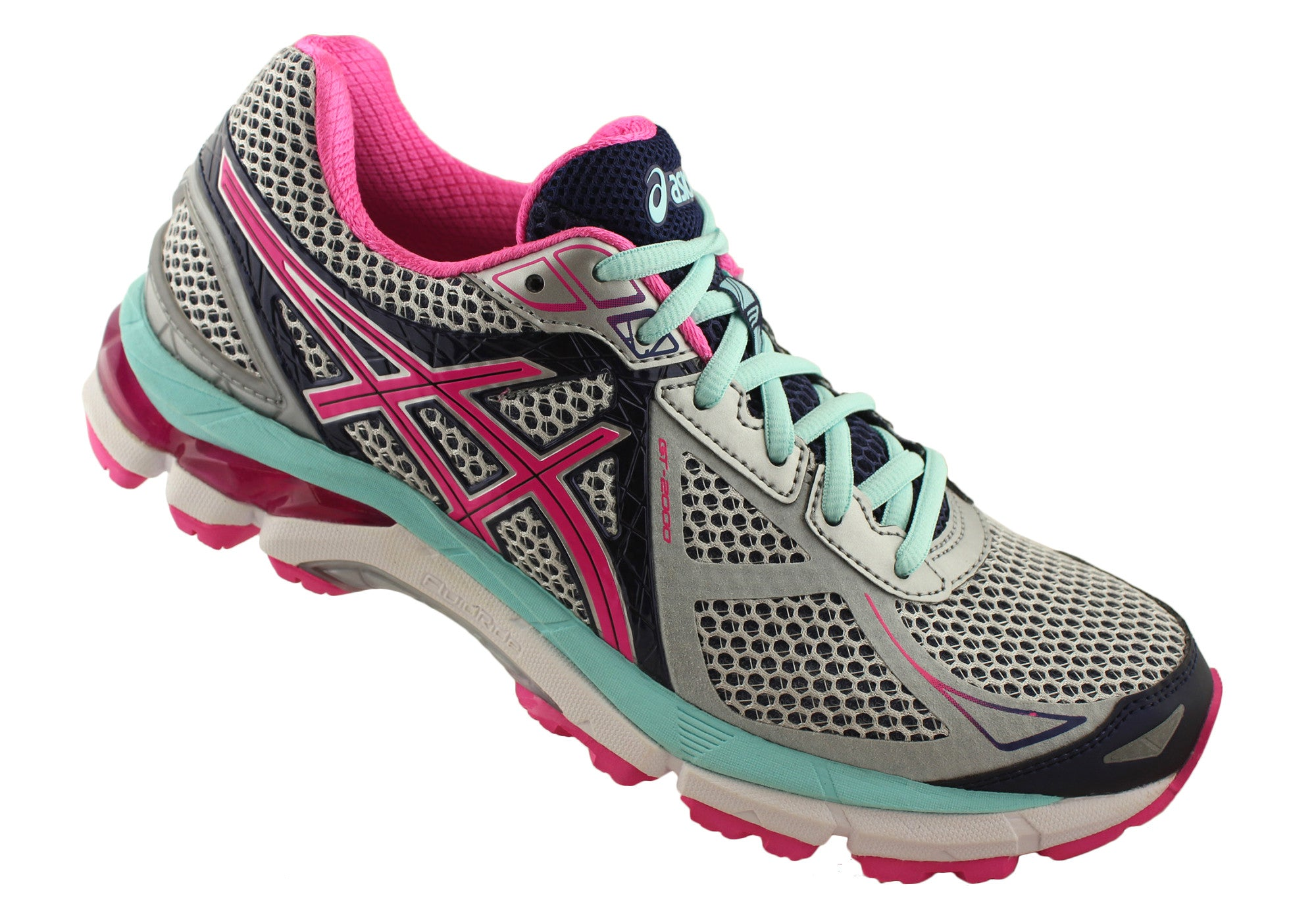 Asics GT2000 3 Womens Premium Cushioned Running Shoes