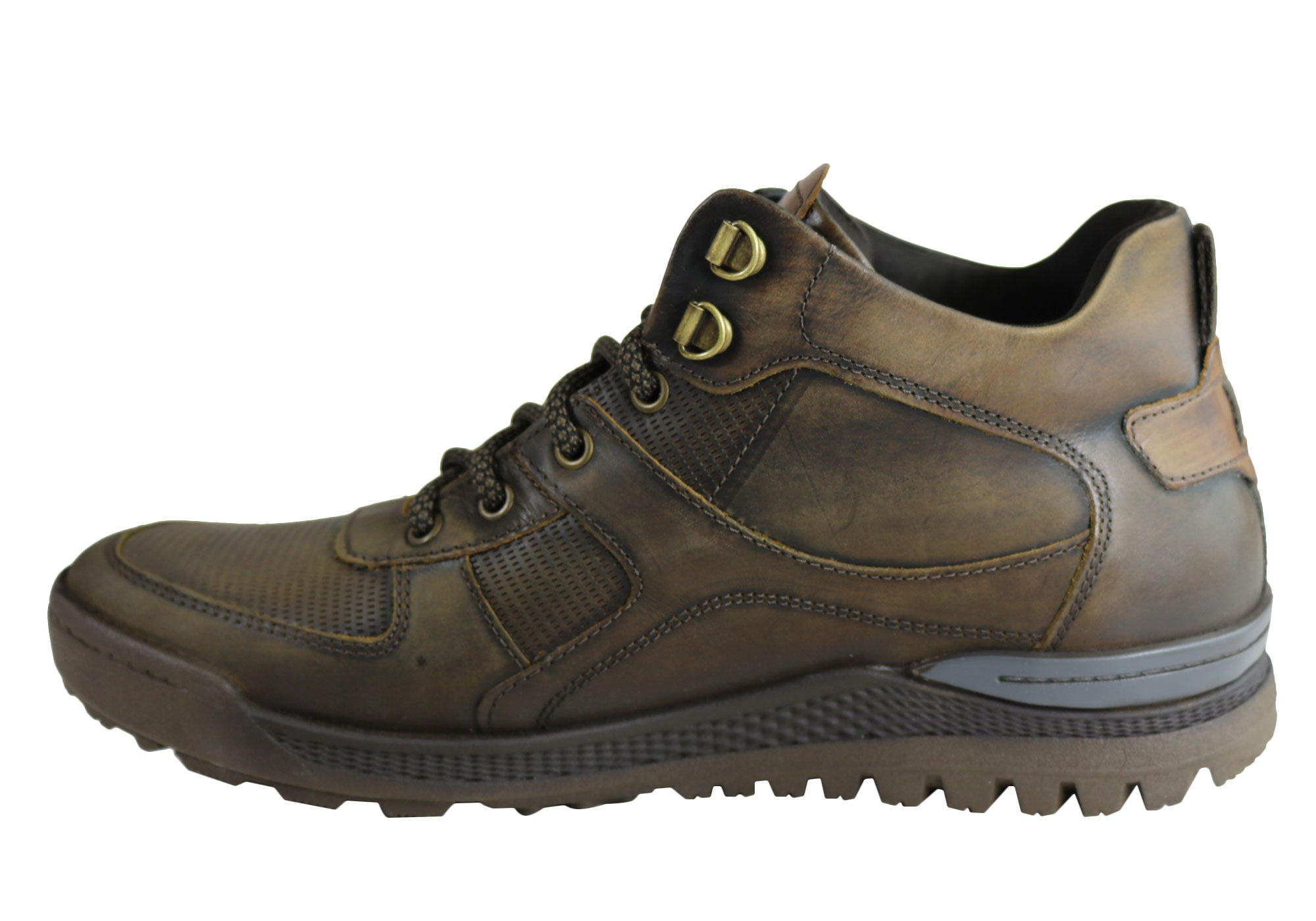 NEW-DEMOCRATA-DIEGO-MENS-LEATHER-LACE-UP-DRESS-BOOTS-MADE-IN-BRAZIL thumbnail 4