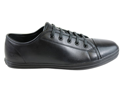 Roc Veto Senior Leather School Shoes Fashion Lace Up Sneakers