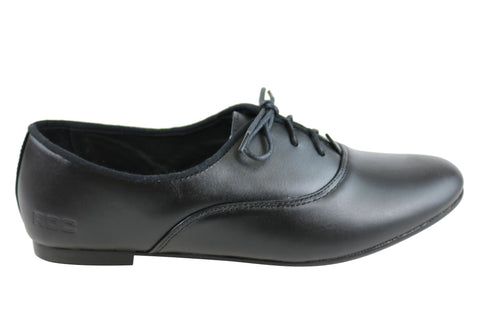 Roc Fanfare Senior Womens/Older Girls Leather School Shoes