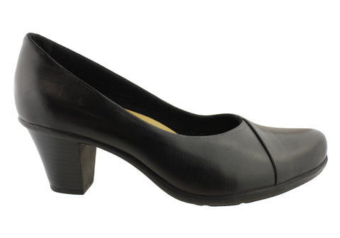Planet Shoes Petra Womens Leather Pump Shoes