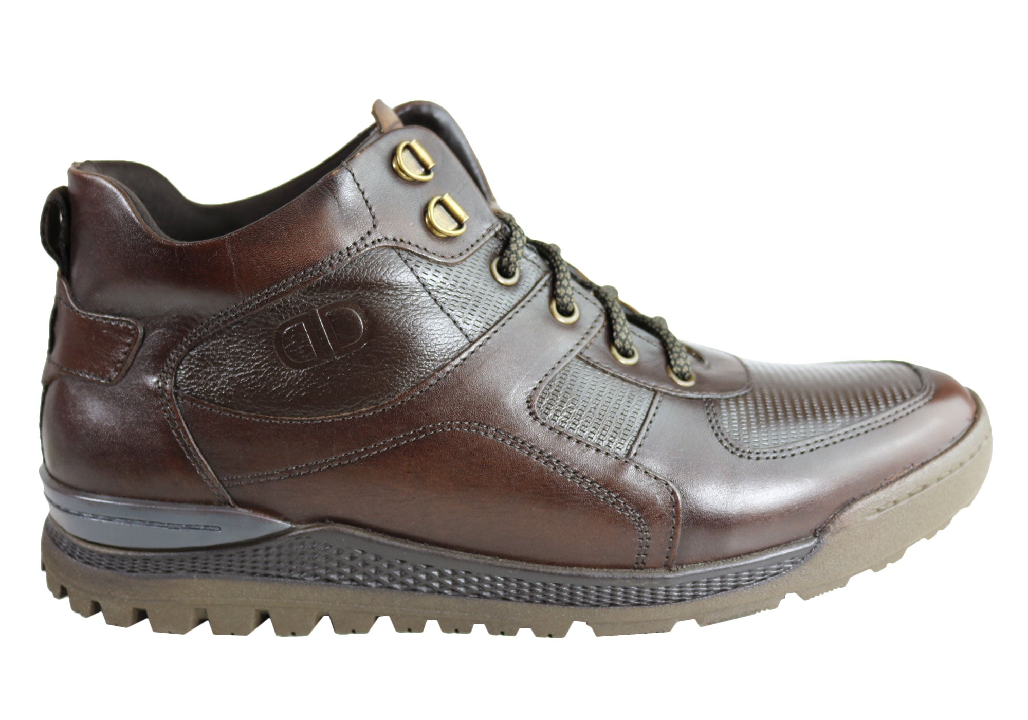 NEW-DEMOCRATA-DIEGO-MENS-LEATHER-LACE-UP-DRESS-BOOTS-MADE-IN-BRAZIL thumbnail 10
