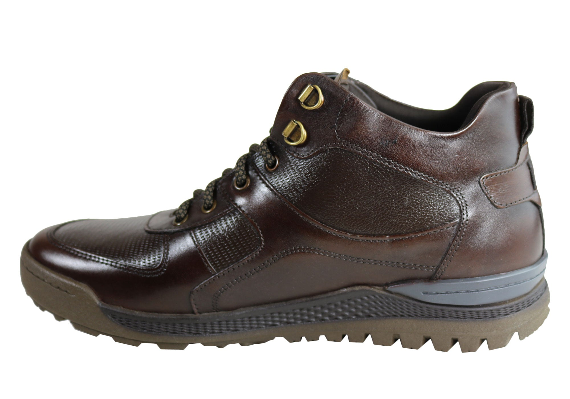 NEW-DEMOCRATA-DIEGO-MENS-LEATHER-LACE-UP-DRESS-BOOTS-MADE-IN-BRAZIL thumbnail 11