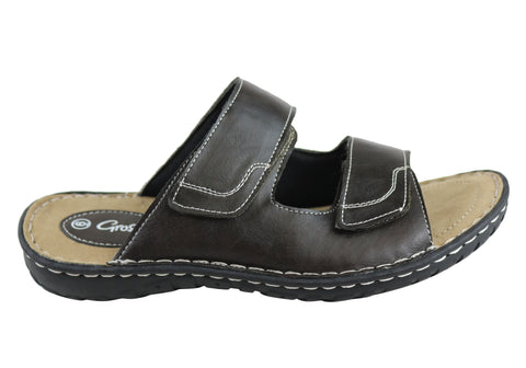 Grosby Jesse Mens Comfortable Lightweight Slides